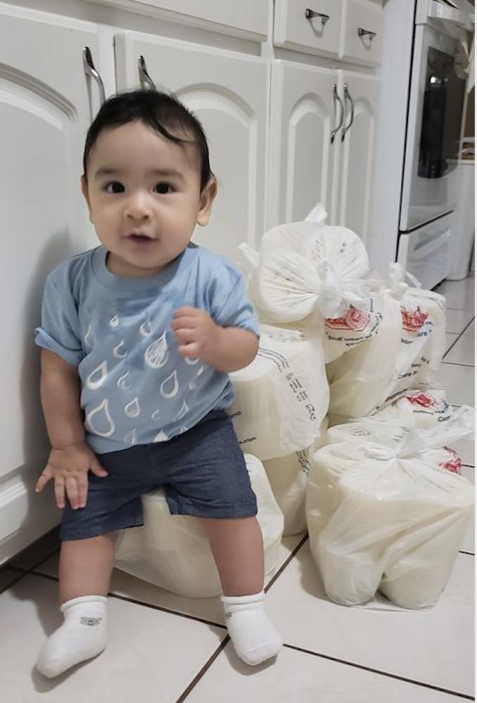 milk donor baby